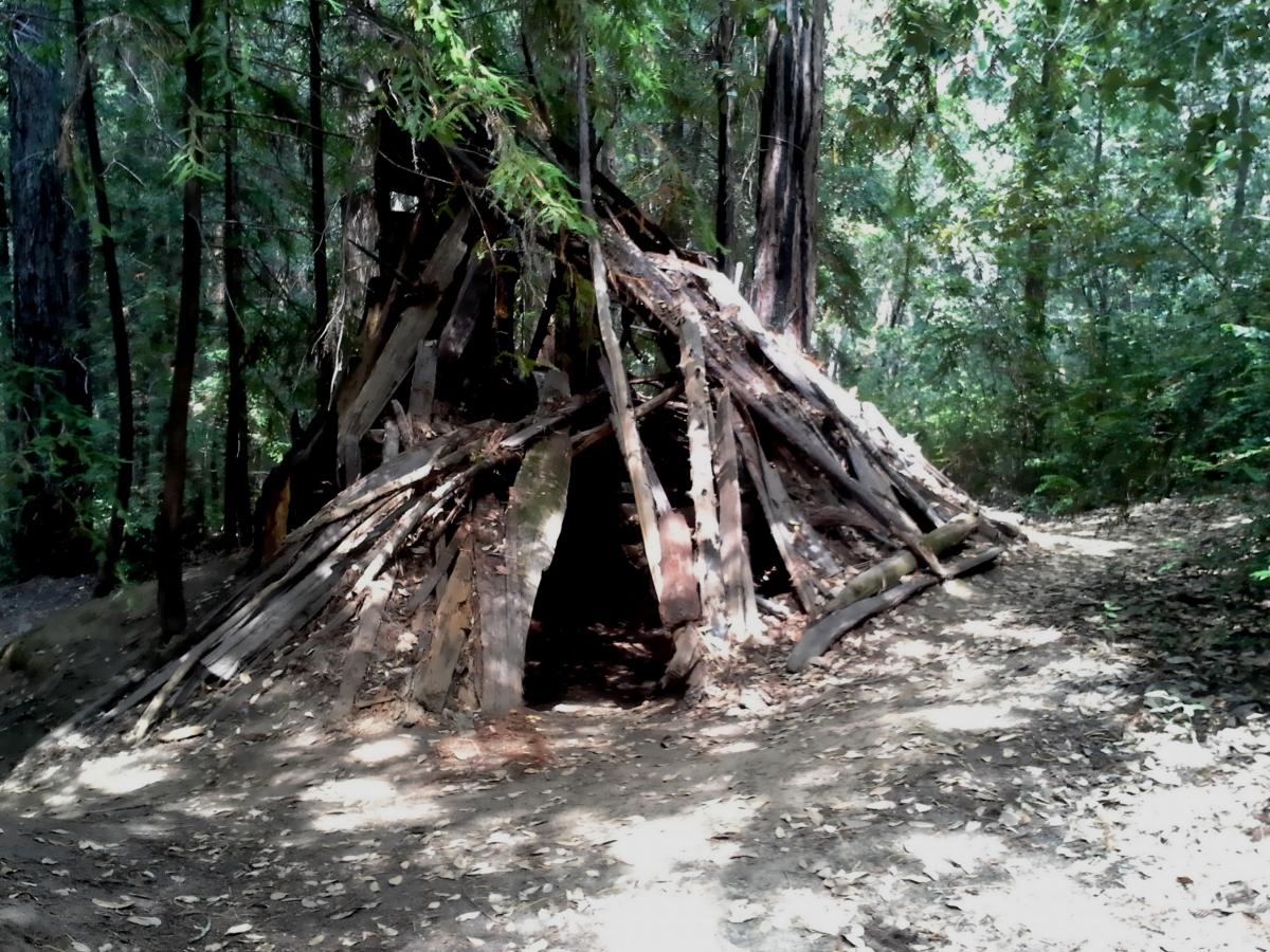 Hermit huts
